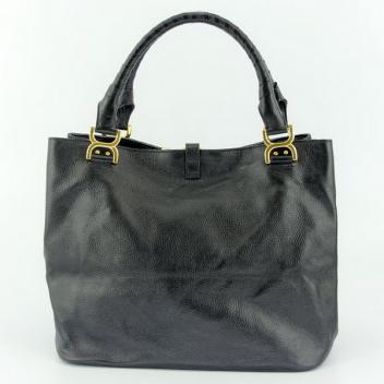 Replica Chloe Classic 80597 Ladies Lambskin Black Handbag